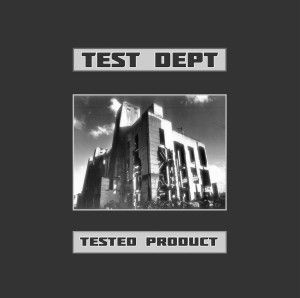 "PC-Press release Test Dept Record Store Day 12"" single - Vinyl only."