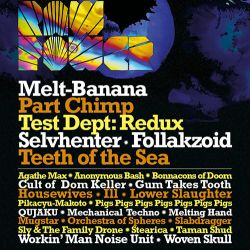 Test Dept Redux at Raw Power Festival - The Dome, Tufnell Park, London Friday 27th May